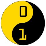 MCRCODERDOJO YELLOW & BLACK LOGO ON TRANS